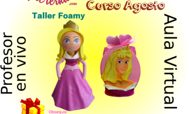 Aula Virtual Foami Princesas