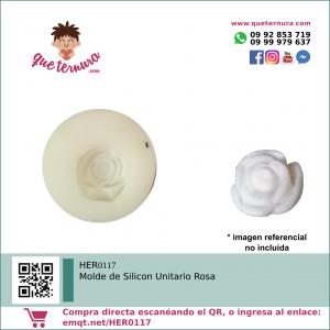 HER0117 Molde de Silicon Unitario Rosa