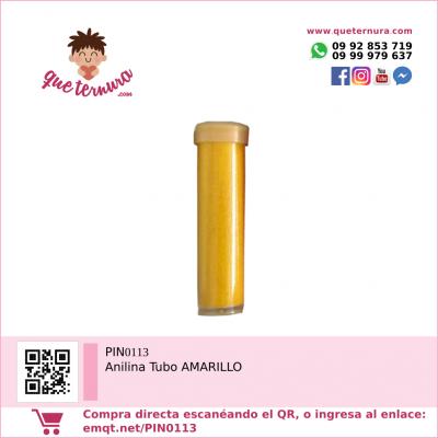 PIN0113 Anilina Tubo AMARILLO