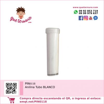 PIN0118 Anilina Tubo BLANCO