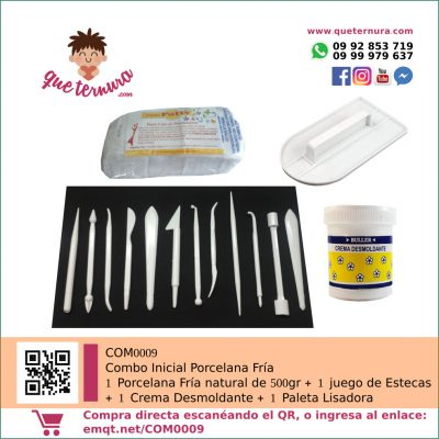COM0009 Combo Inicial Porcelana Fría | queternura.com