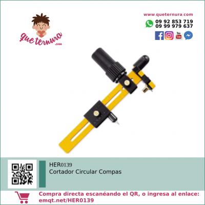 HER0139 Cortador Circular Compas