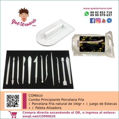 COM0020 Combo Principiante Porcelana Fria | queternura.com